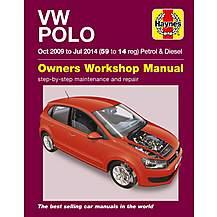 image of Haynes Manual VW Polo Petrol & Diesel (09-14)