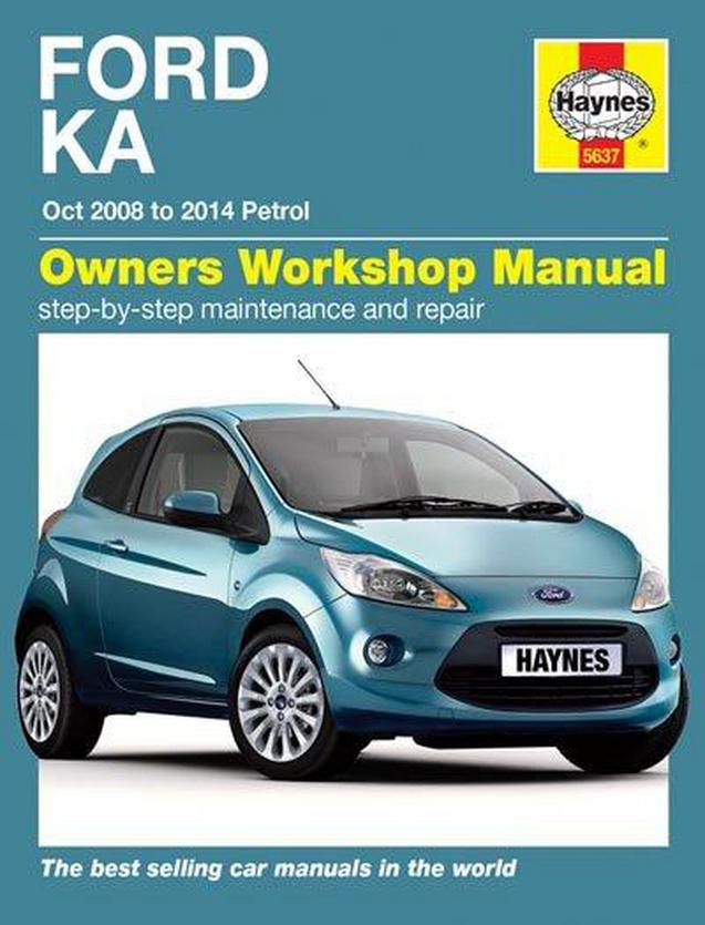 Haynes Manual Ford Ka Petrol
