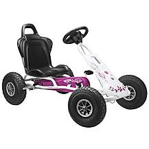 image of Ferbedo Air Runner Go Kart - Pink & White