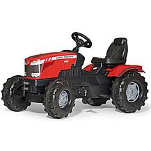 image of Robbie Toys Massey Ferguson 8650 Tractor Pedal Ride On