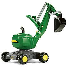 image of Rolly Toys John Deere 360 Excavator Ride On