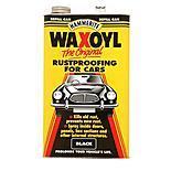 Waxoyl Rust Proofing Black 5L