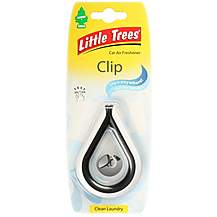 image of Little Tree Clean Laundry Clip Air Freshener