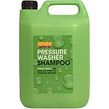 image of Halfords Pressure Washer Shampoo 5 Litre