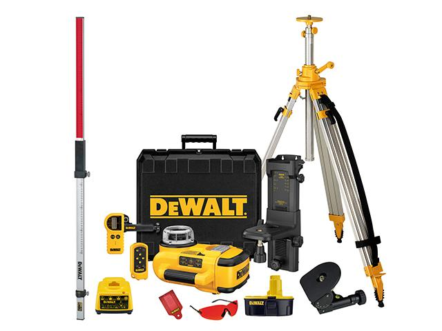 DeWalt DW079PKH Self Levelling Rotary Laser Level Kit lowest price
