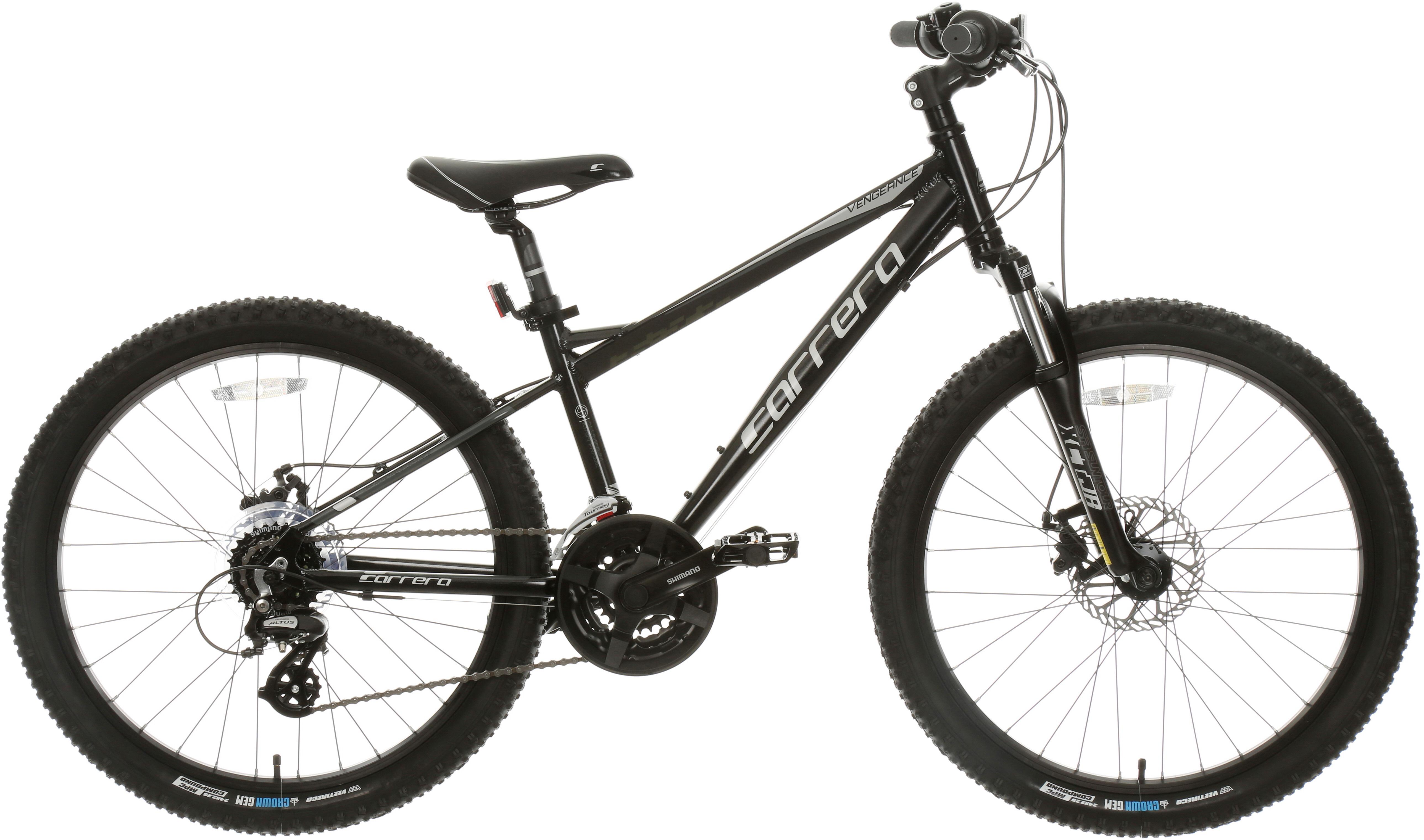 Carrera Vengeance Junior Mountain Bike - 24 inch Wheel