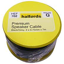 image of Halfords Premium Speaker Cable HEF702