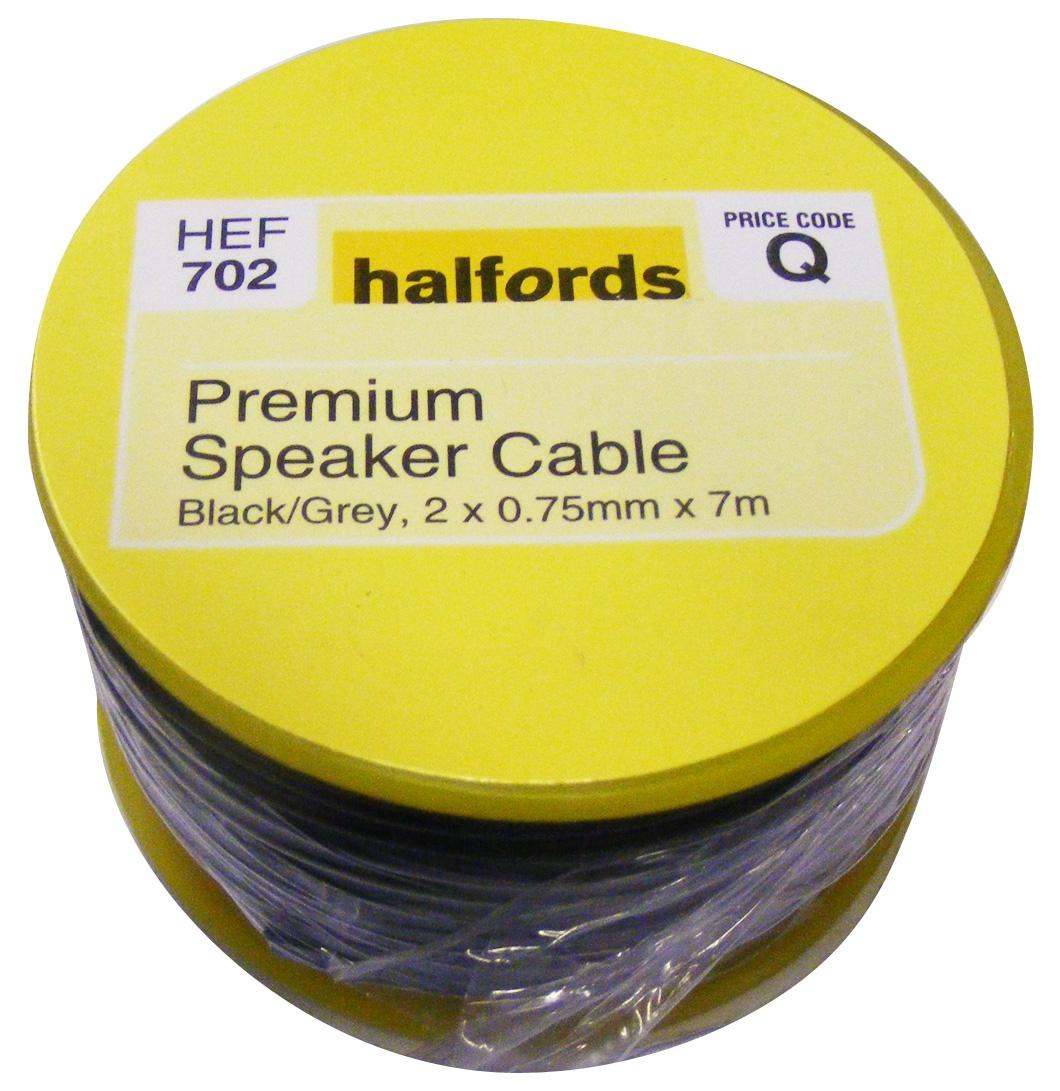 halfords premium speaker cable hef7 rh halfords com Duct Wire Loom Spark Plug Wire Looms