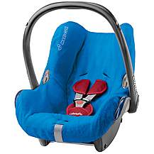 image of Maxi-Cosi CabrioFix Baby Car Seat Summer Cover - Blue