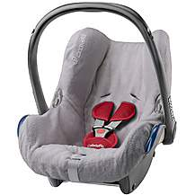 image of Maxi-Cosi CabrioFix Baby Car Seat Summer Cover - Grey