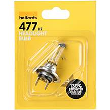 image of Halfords 477 H7 Car Bulb x 1