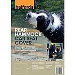 Halfords Rear Hammock Car Seat Cover