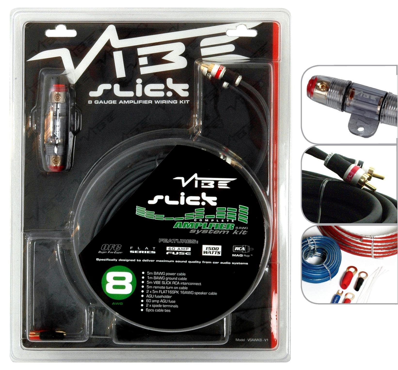 vibe slick 8 gauge amplifier wiring rh halfords com