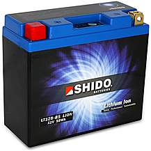 Shido Lithium Battery LT12B-BS
