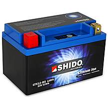 Shido Lithium Battery LTX12-BS