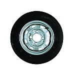 image of Erde 122 Trailer Spare Wheel without Support