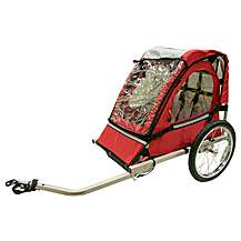 image of Halfords Single Buggy Child Bike Trailer