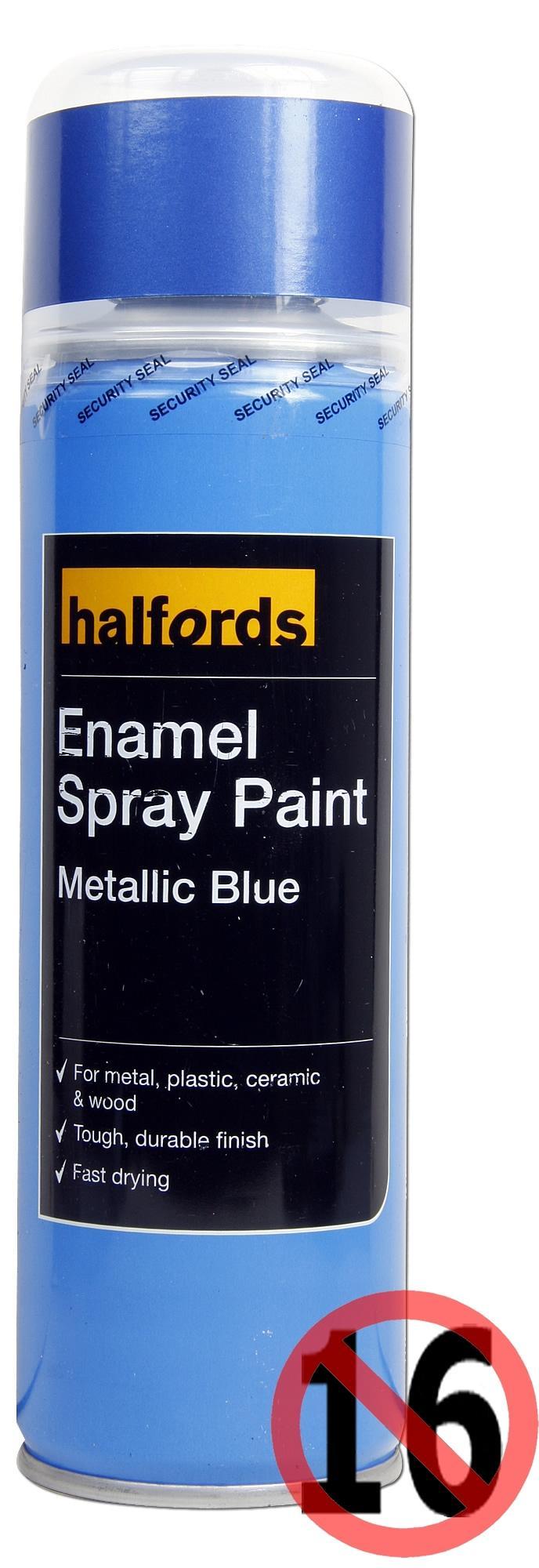 halfords enamel spray paint metalli rh halfords com Metal Paint Guide Spray- Paint Guide