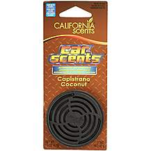 image of California Scents Air Freshener `Copistrano Coconut`