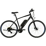 "image of Carrera Crossfire-E Mens Electric Hybrid Bike - 17"", 19"", 21"" Frames"