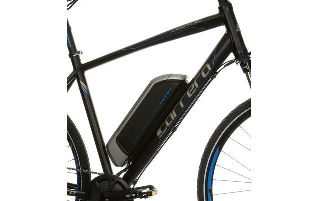 "f6adf5ec92b Carrera Crossfire-E Mens Electric Hybrid Bike - 17"", 19&#"