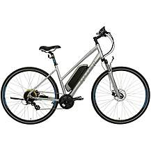 "image of Carrera Crossfire-E Womens Electric Hybrid Bike - 16"", 18"" Frames"
