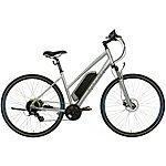 "image of Carrera Crossfire-E Womens Electric Hybrid Bike - 16"", 18"" Frames"
