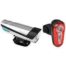image of Bikehut 20 Lux Bike Light Set 2016