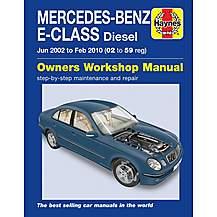 image of Haynes Mercedes-Benz E-Class Diesel (02-10) Manual