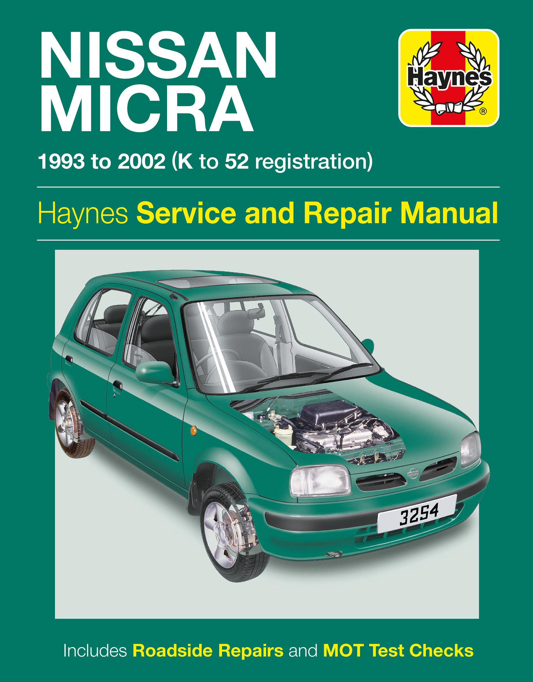 haynes nissan micra 93 02 manua rh halfords com nissan micra workshop manual k11 nissan micra k11 repair manual free download