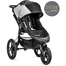 image of Baby Jogger Summit X3 Single Stroller Black