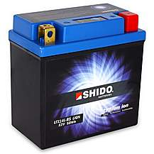Shido Lithium Battery LTX14L-BS