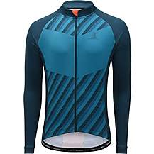 image of Boardman Mens Thermal Cycling Jersey - Navy