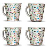 Olpro Berrow Hill Melamine Mugs x 4