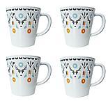 Olpro Whitbourne Melamine Mugs x 4