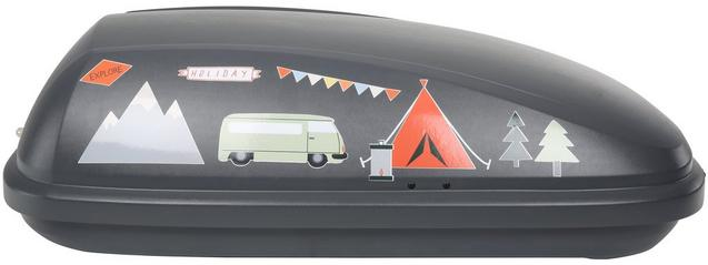 Roofbox sticker kit camping