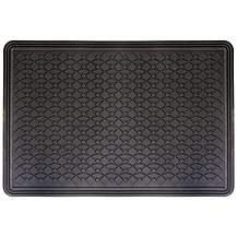 image of Halfords Essentails Single Rubber Mat - Large
