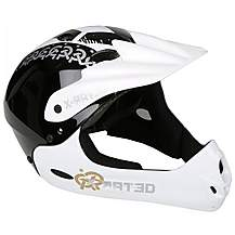 image of X Rated Full Face Kids Bike Helmet (54-58cm)