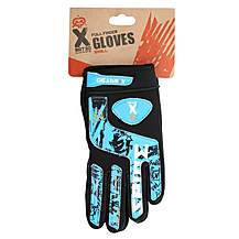 image of X Rated Kids Full Finger BMX Gloves