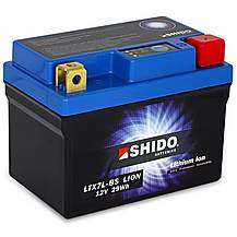 Shido Lithium Battery LTX7L-BS