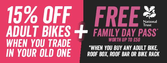 Free Family Day Pass worth £50