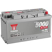 image of Yuasa  HSB019 Silver 12V Car Battery 5 Year Guarantee