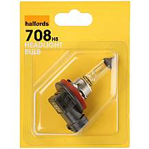 image of Halfords 708 H8 Car Bulb x 1