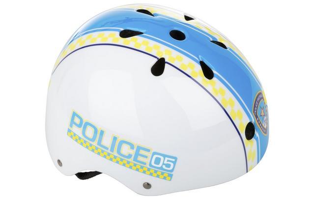 Apollo Police Patrol Kids Bike Helmet (48-54cm) 2017