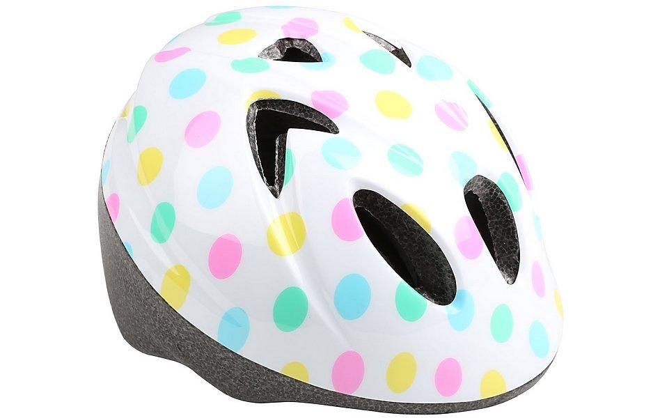 footwear later stable quality Polka Dot Toddler Bike Helmet (44-50cm)