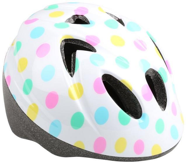 Polka Dot Toddler Bike Helmet (44-50cm)