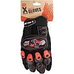 image of X Rated Kids Knuckle BMX Gloves - Small