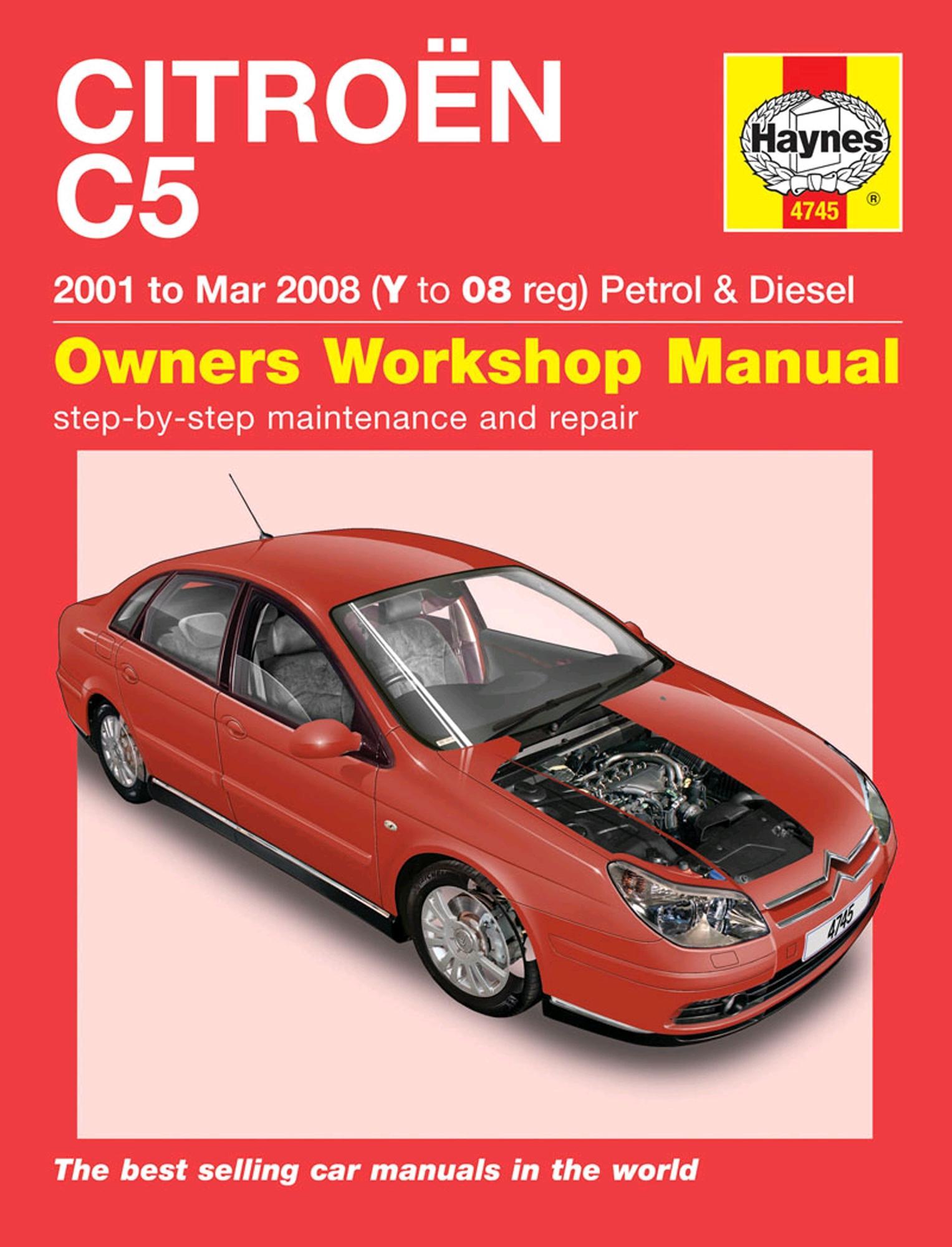 haynes citroen c5 01 to mar 08 ma rh halfords com citroen c5 owners manual 2006 citroen c5 owners manual 2001