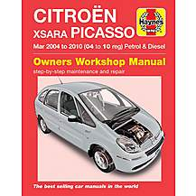 image of Haynes Citroen Xsara Picasso (Mar 04 to 08) Manual
