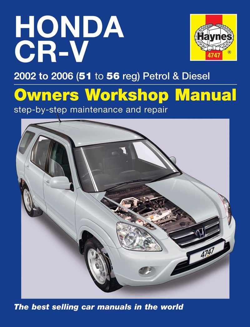 haynes honda cr v 02 06 manual rh halfords com 2002 honda crv service manual download CR-V Manual Conversion